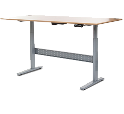 7 height adjustable standing desks that won 39 t murder you for Ikea motorized standing desk